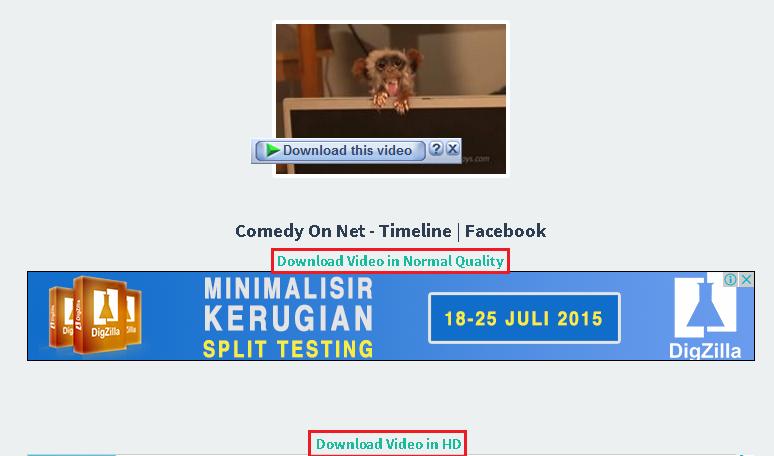 kualitas video di facebook