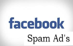 facebook spam ad's
