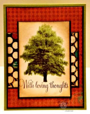 Stamps - Kitchen Sink Stamps Multi Step Pines, Words of Comfort & Joy