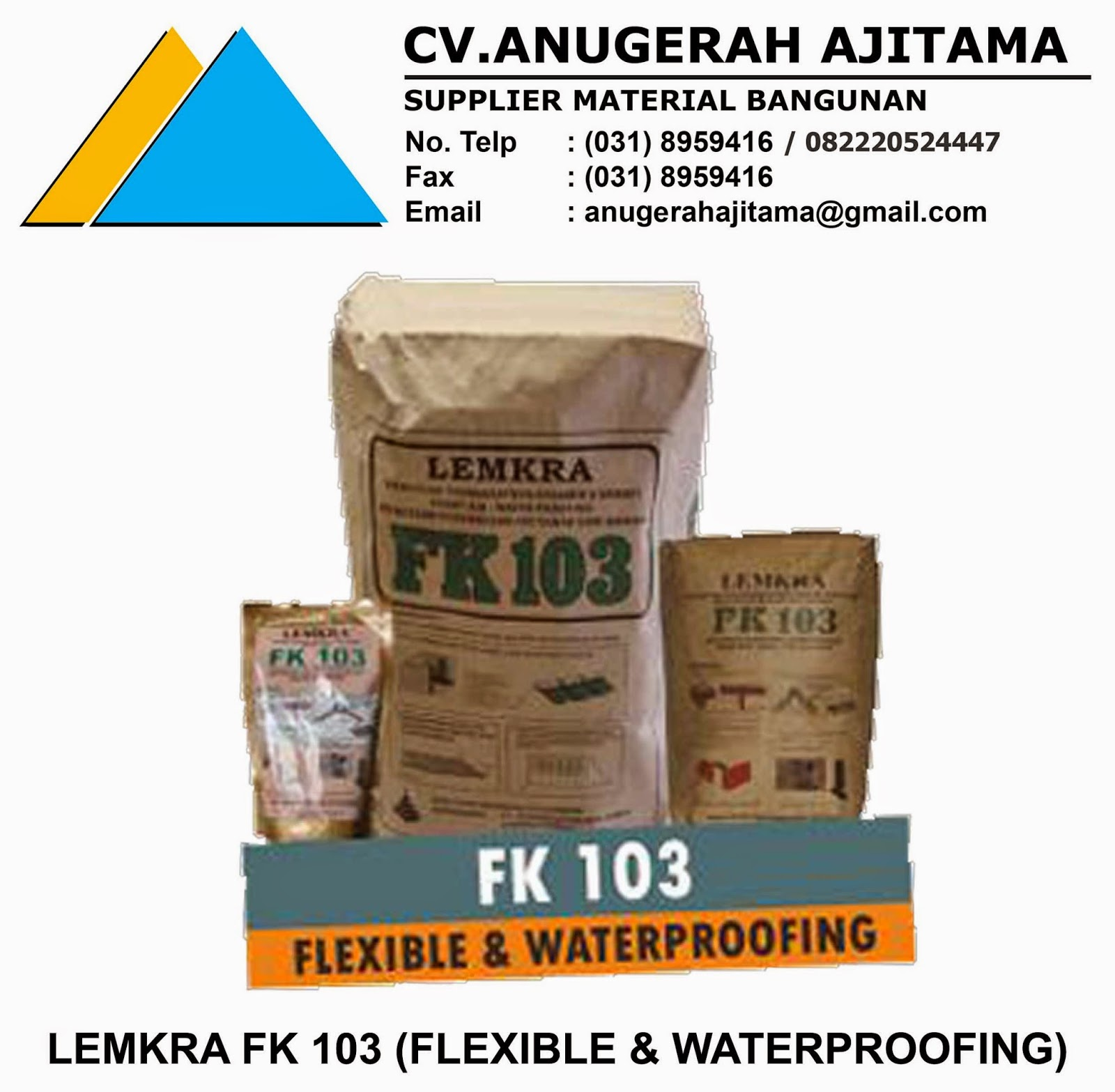 LEMKRA FK 103 (FLEXIBLE & WATERPROOFING)