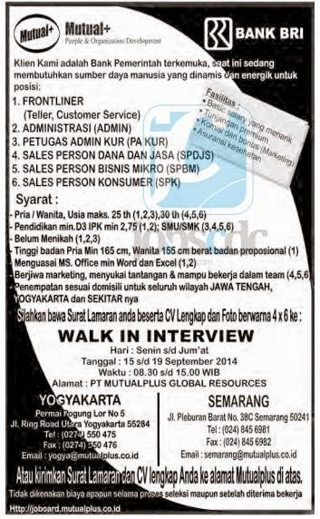 Image Result For Lowongan Kerja September