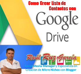 Embudo de Marketing con Google Drive