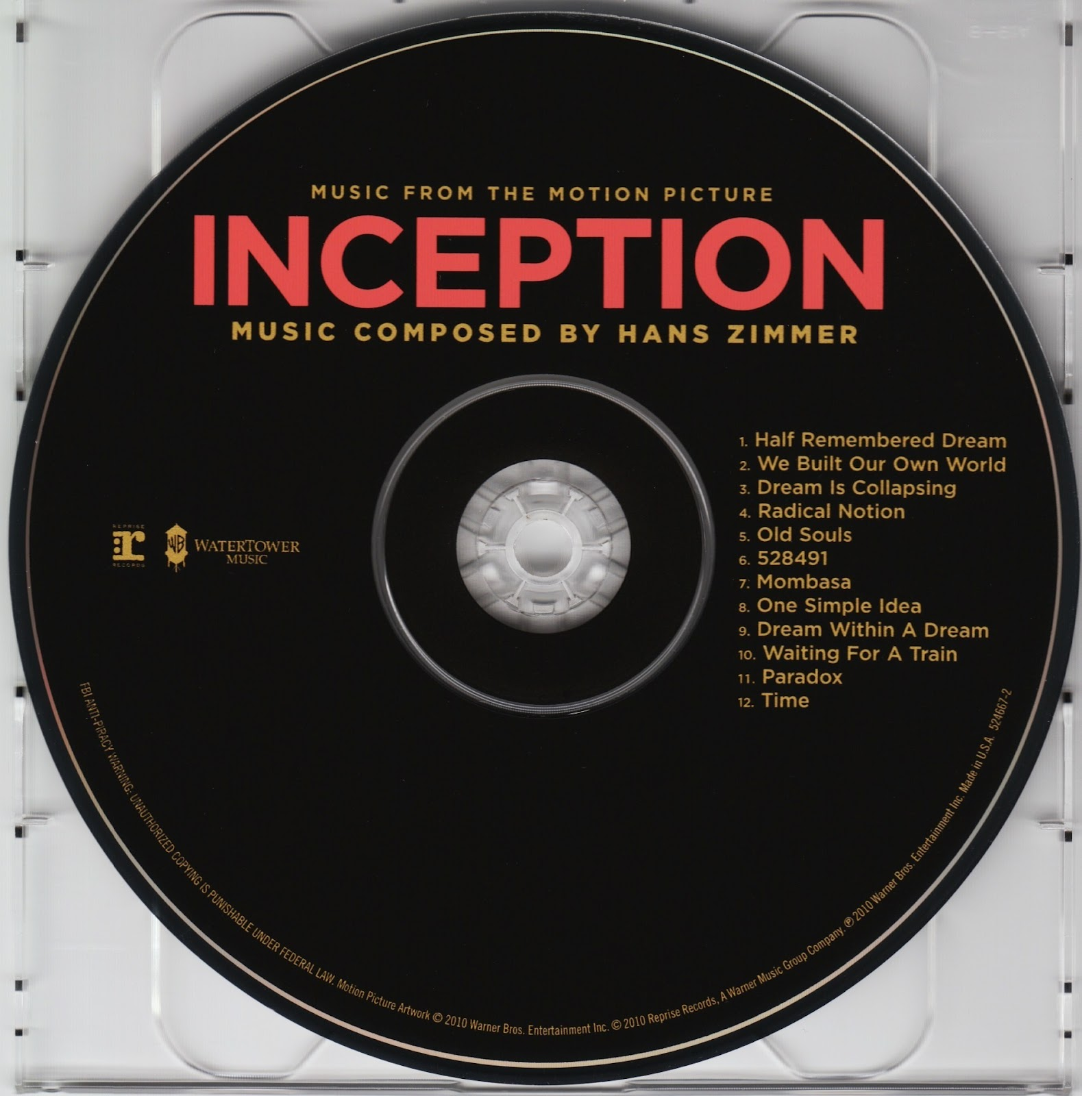 Dream Kitchen Hans Zimmer: GÖRSEL GÜNLÜK: Inception Soundtrack
