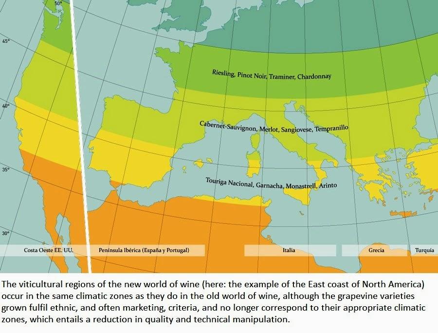 Urbina vinos blog vocabulary spanish english for Soil 4 climate