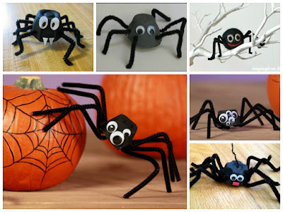 осенняя поделка паук на паутине из бумаги своими руками для детей