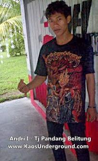 jual kaos metal underground tanjung pandang belitung www.kaosunderground.com