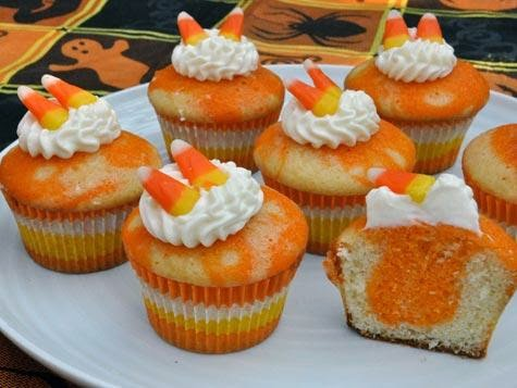 http://recipesrecipesrecipes.wordpress.com/2012/10/30/recipe-of-the-day-candy-corn-cupcakes-national-candy-corn-day/