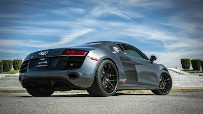 2015 New Alpha 10 Audi R8 Test performance back view