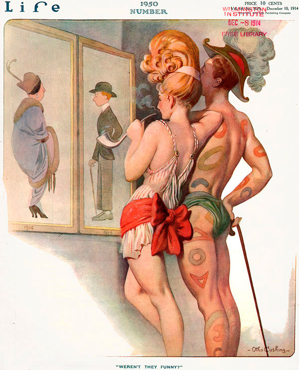 Life #1950 (1914) by Otho Cushing