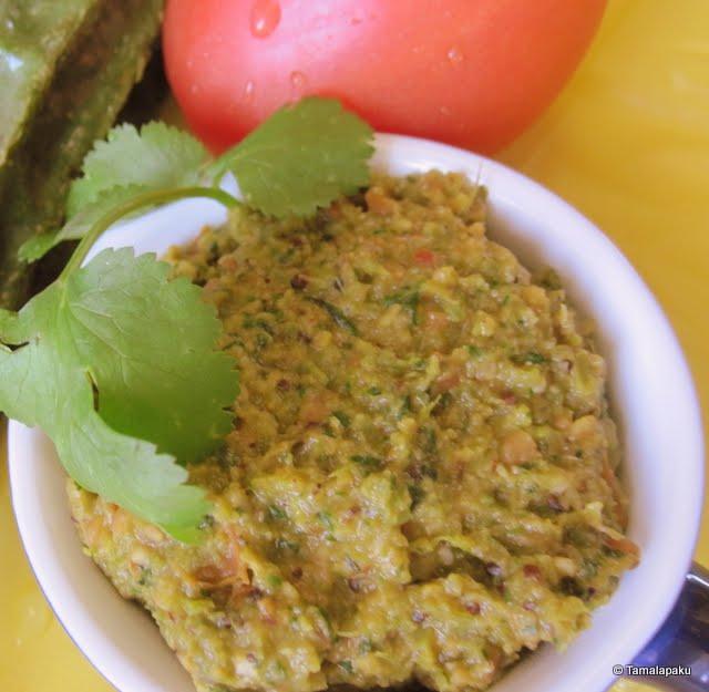Beerapeechu Tomato Pachadi