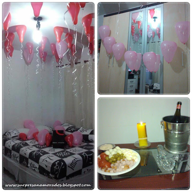 festa no quarto