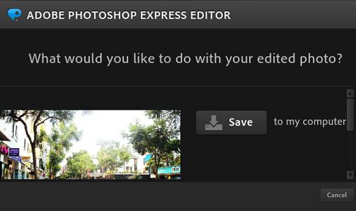 Online Photoshop Editor