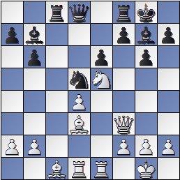 Partida de ajedrez Donner vs. Popel, después de 20.Tfe1?