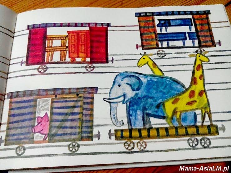 lokomotywa ilustracja wagonów