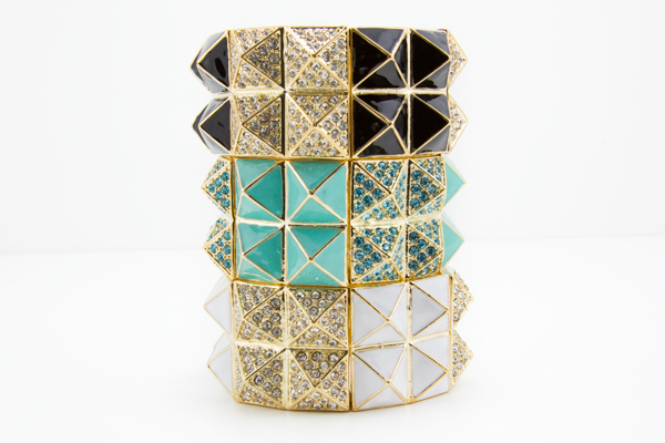 Pyramid Crystal Stack Get Ready for Fashion Week with @TplusJDesigns