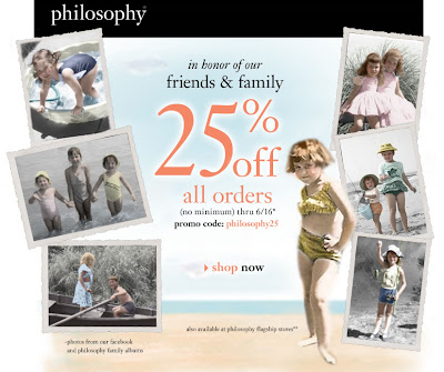 philosophy+friends+and+family Philosophy Friends and Family: Take 25% Off