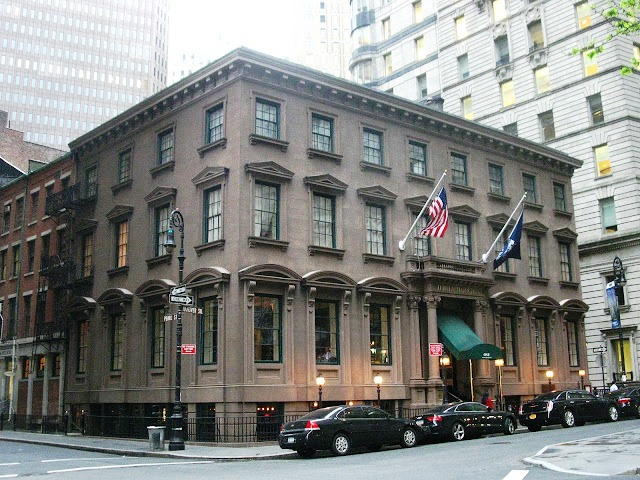 Daytonian in manhattan the 1854 india house no 1 for The hanover house