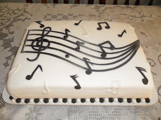 Bolo Clave De Sol   Notas Musicais