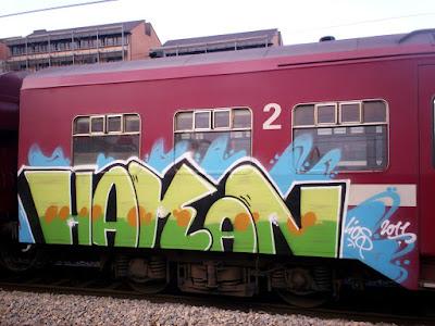 graffiti  HAKAN lios