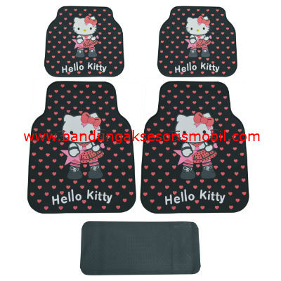 Karpet Hello Kitty Rock Star Black Guang Zhou