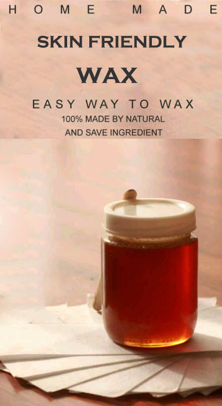 Homemade Wax for glowing toned skin
