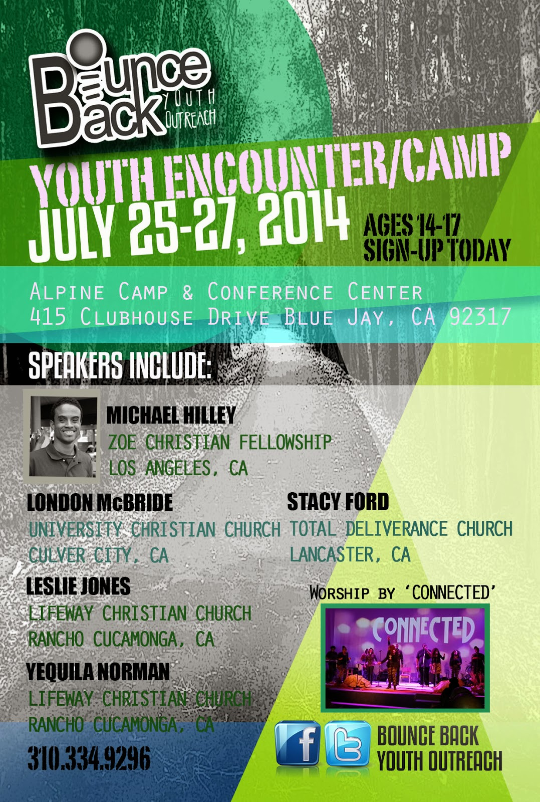flyer design bounce back youth outreach visionheir graphics