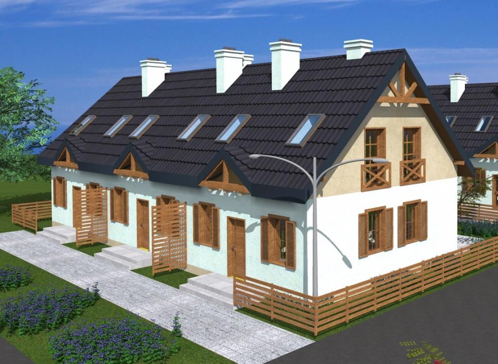 Nowe domy z ogrodem w Łęgowie