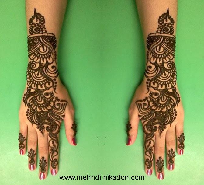 Mehndi For Full Hand : Best mehndi designs arabic photos for full