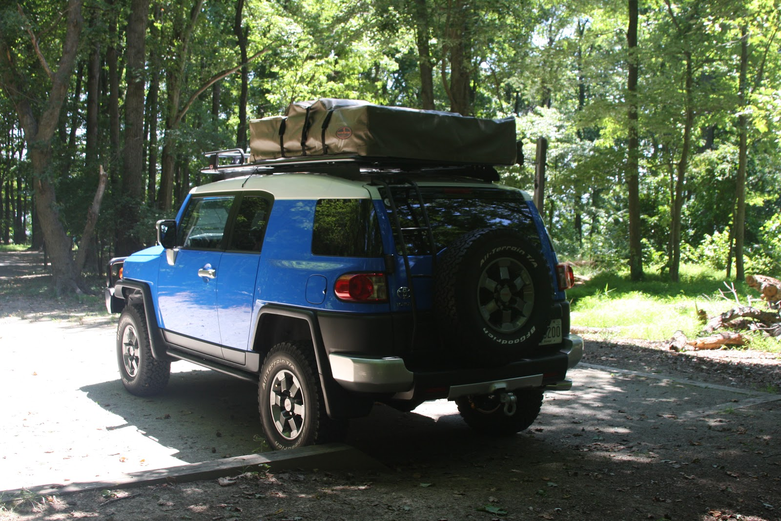 My FJ Cruiser & My FJ Cruiser: Roof Top Tent