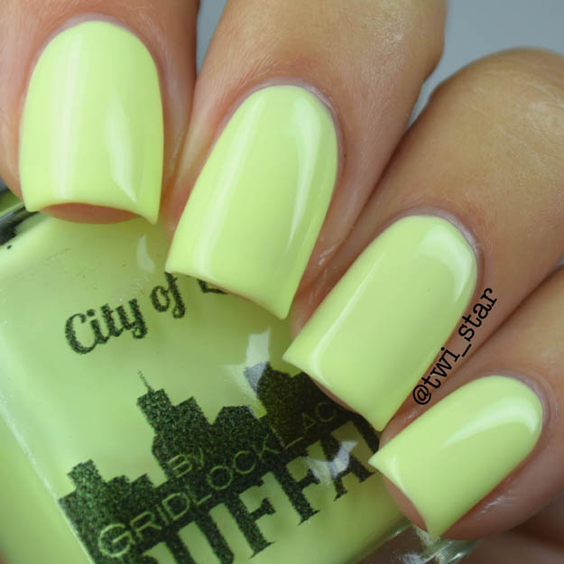 Gridlock Lacquer Buffalo Summer 2015 Collection City of Light