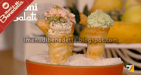 Coni Salati Ripieni di Benedetta Parodi