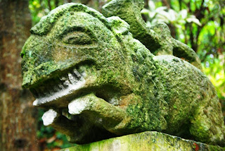 Luarca, Jardines de la Fonte Baixa, escultura