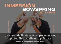 Inmersión de Bowspring 2017-2018