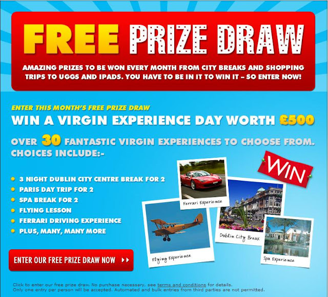 Free Prize Draw