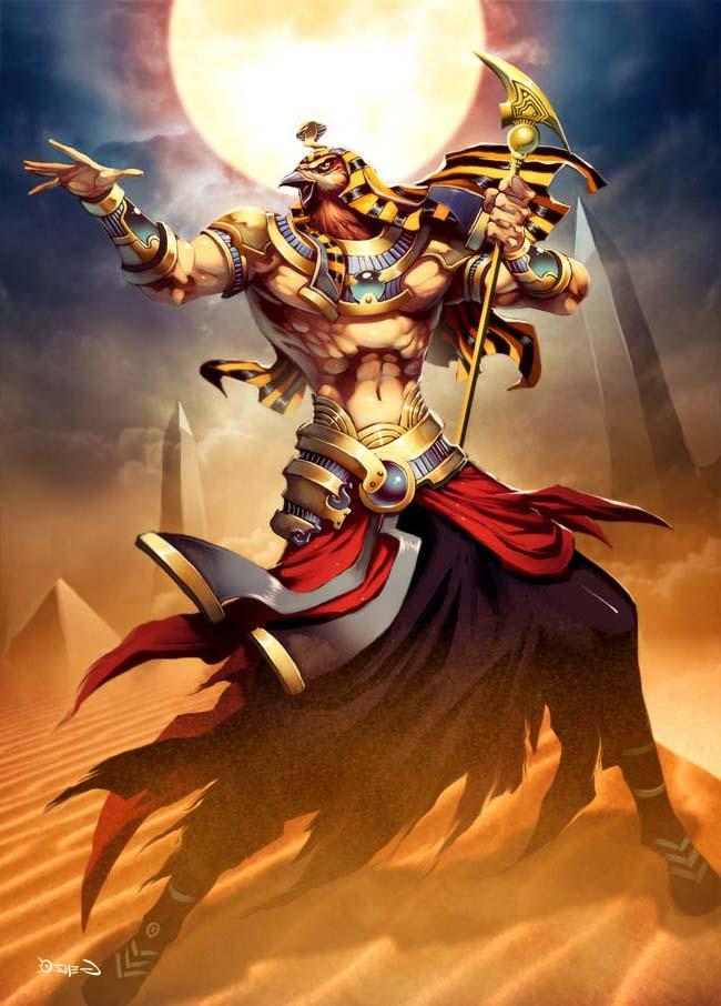 mr lendas deuses egípcios hórus