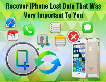 recover iphone lost data