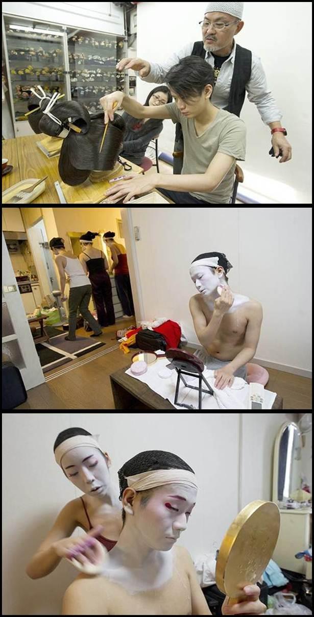 Lelaki Geisha Terakhir Dunia Di Jepun (14 Gambar)