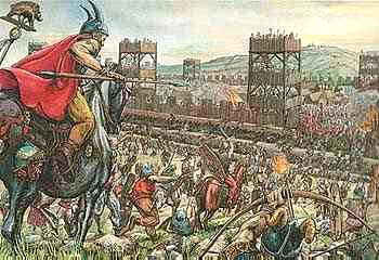 vercingetorix against roman empire He is considered the first national hero of france (known as gaul in his time) and his defense of the land against the roman legions made him legendary even in his own time when caesar invaded gaul, vercingetorix led his people in resistance.