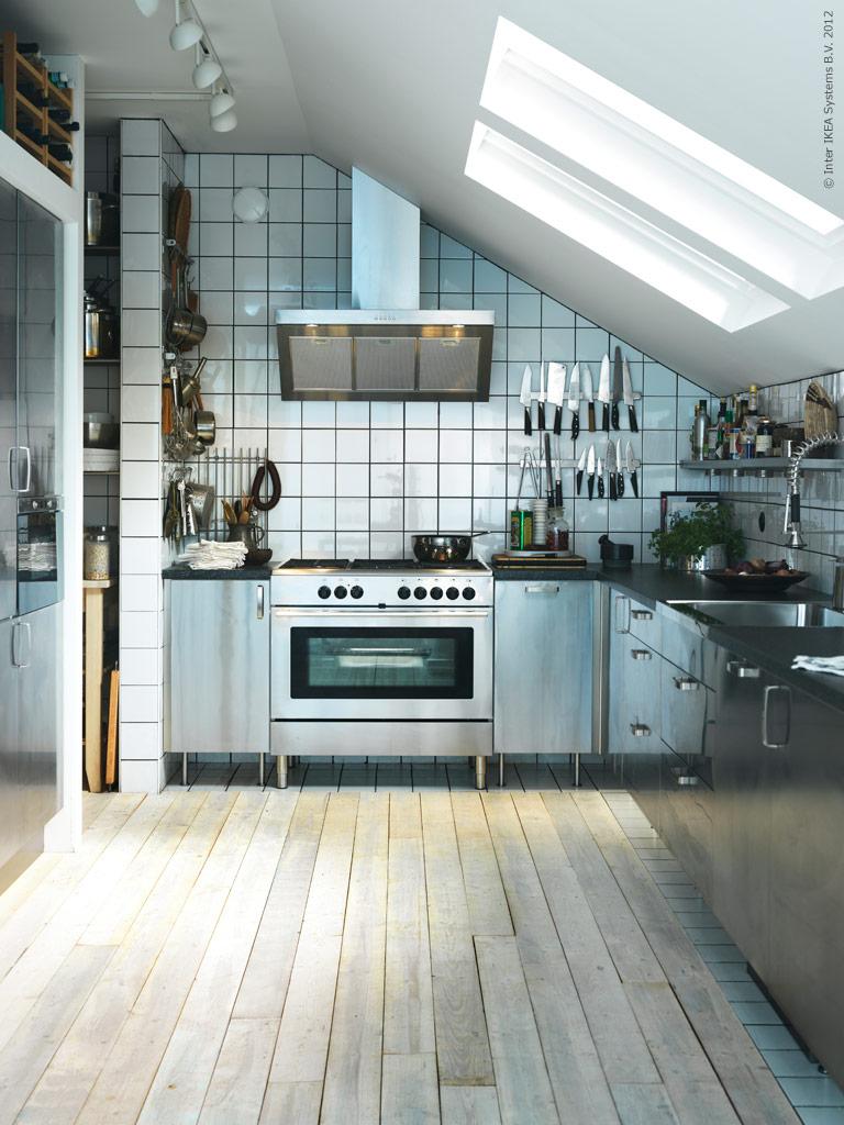 Ikea Kok Inspiration 2013 : BLACKBIRD INDUSTRIAL KITCHEN