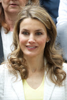 Felipe and Letizia visit Students Residence