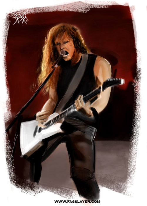 james hetfield illustration