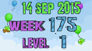 Angry Birds Friends Tournament Week 175 level 1
