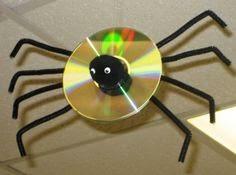 Des Idées pour Recycler des CD pour Halloween