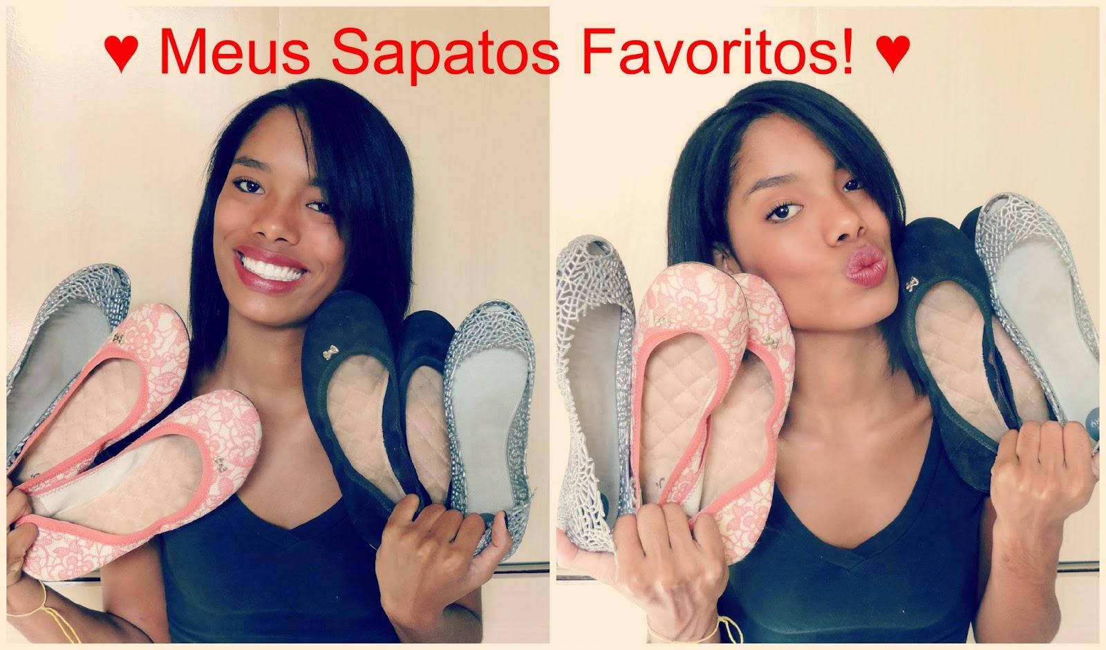 ♥ Vídeo: Meus sapatos favoritos! ♥