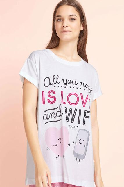 Camiseta de Mr. Wonderful para Oysho como regalo