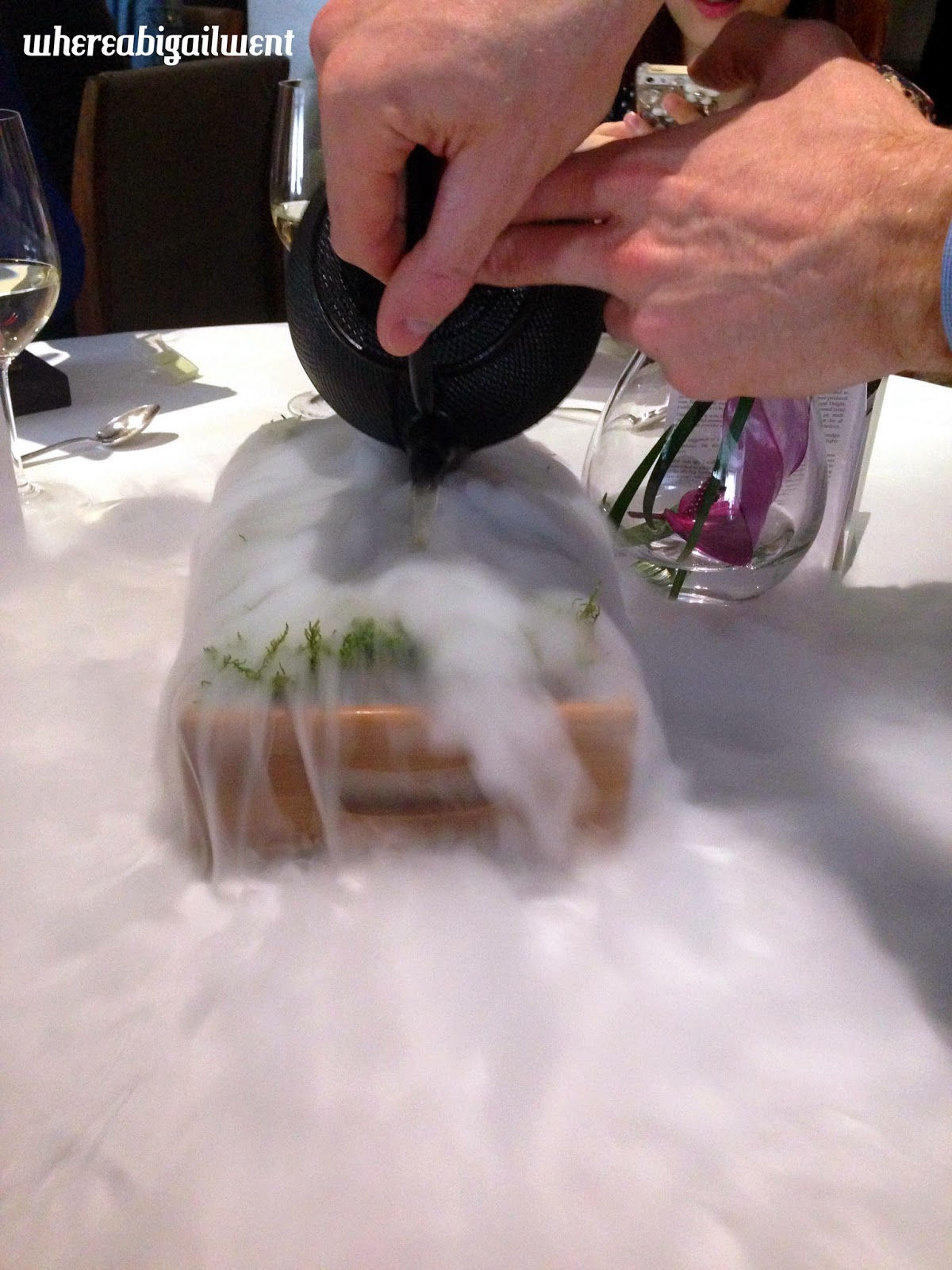Dry Ice and Moss Smoke