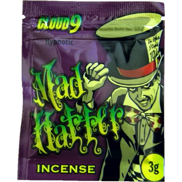 Buy High Potent Green Giant Incense 15gCloud 9 Mad Hatter 10g Spice