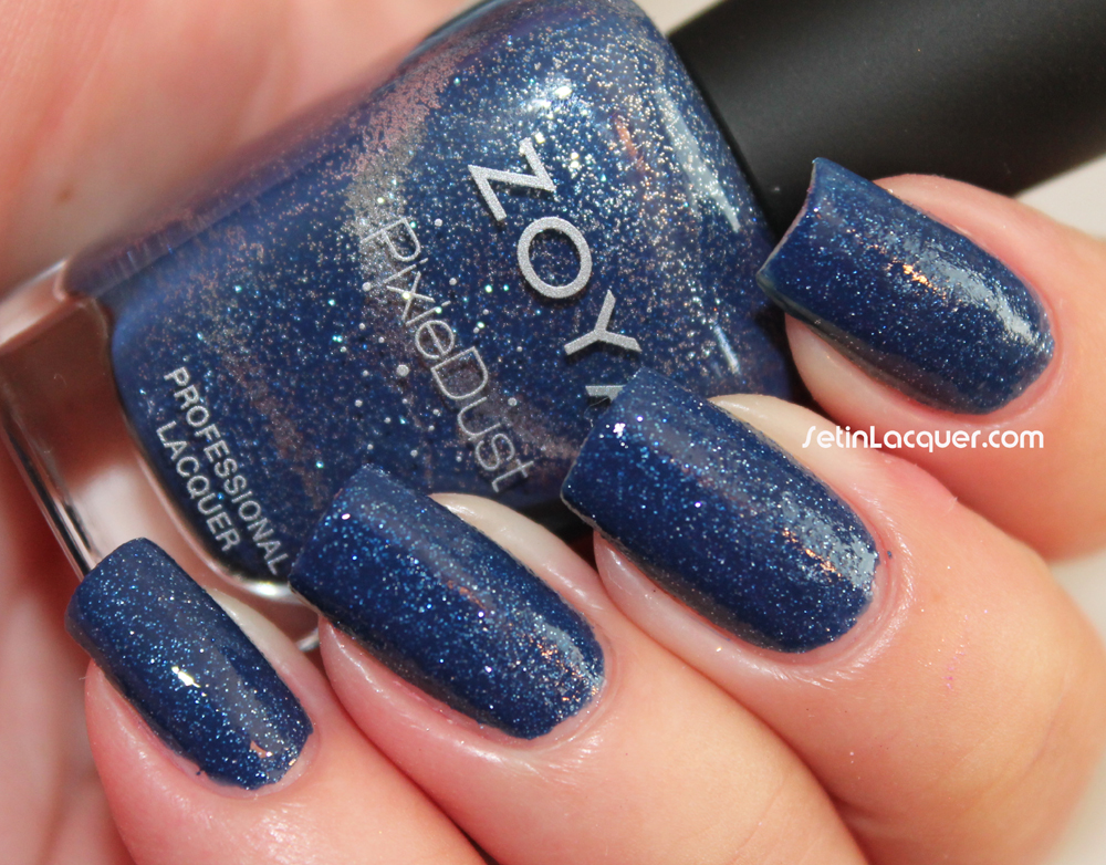 Zoya Sunshine with topcoat