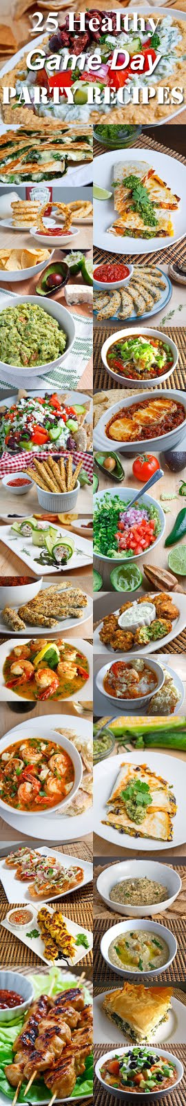 25 Healthy Game Day Party Recipes
