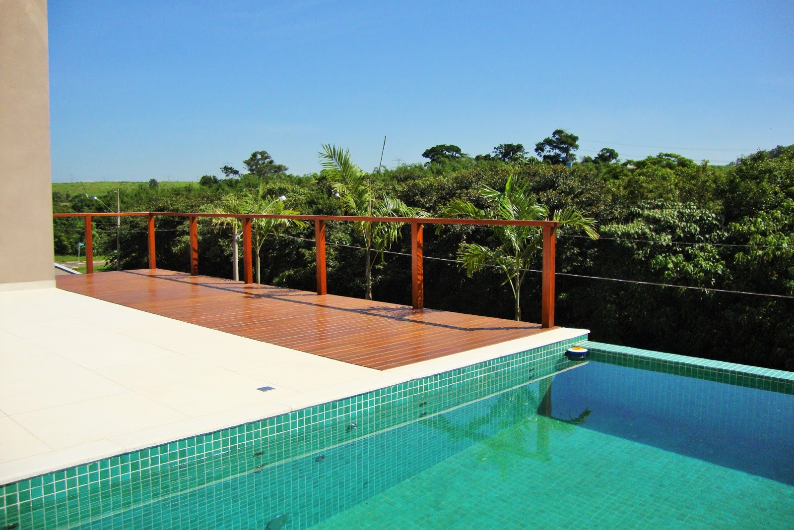 Casa alphaville dom pedro magn fica piscina com - Agua de piscina verde ...